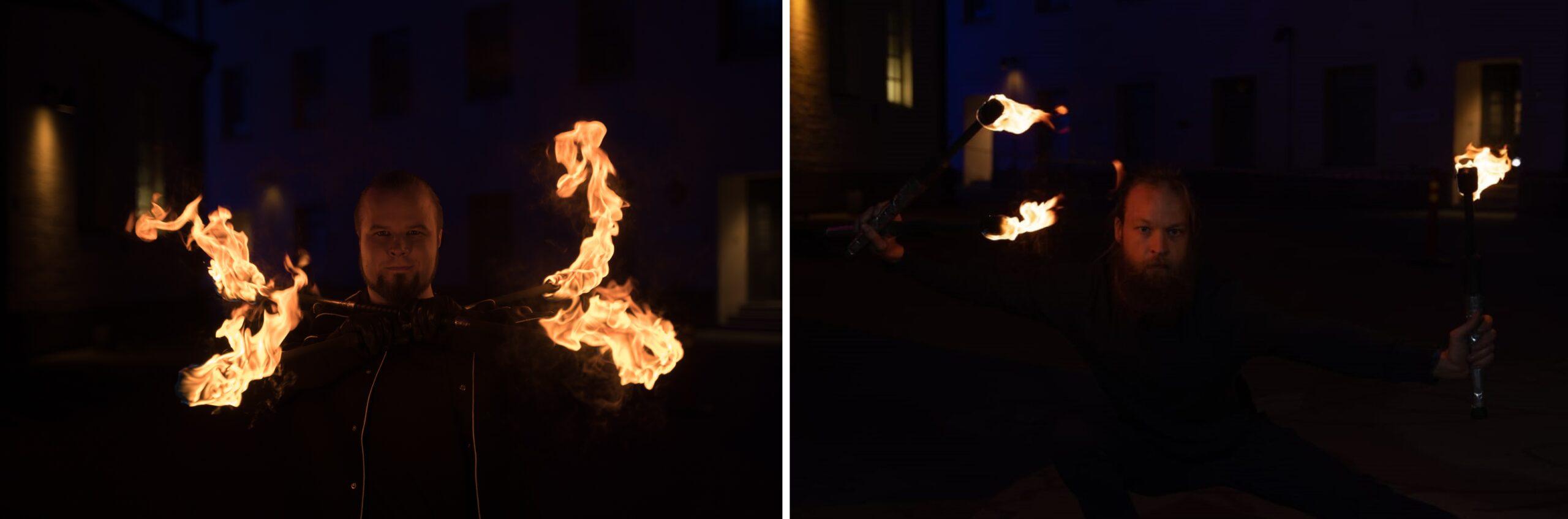 Kuvassa Flamma Fire Duo.
