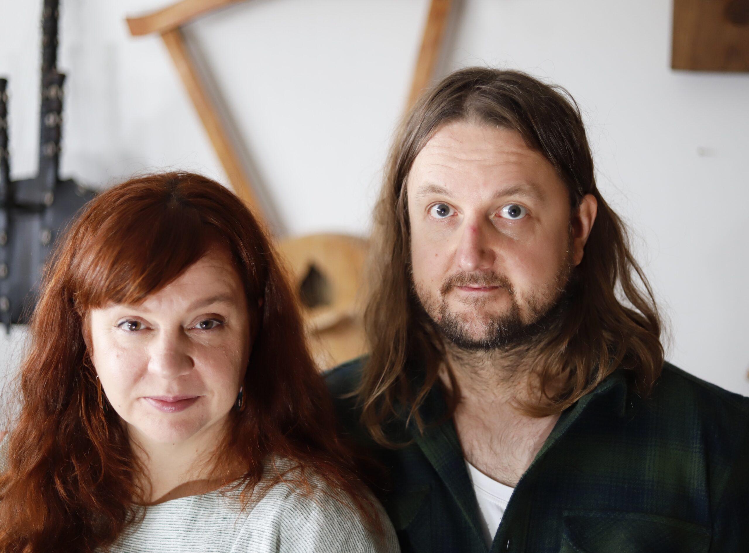 Kuvassa Petra ja Pekko Käppi.